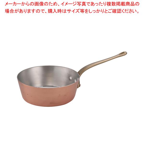 SAエトール 銅 テーパー鍋 24cm 【メイチョー】