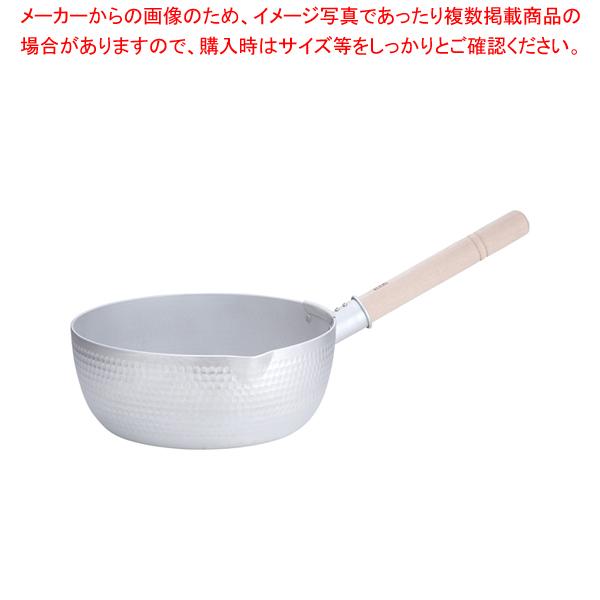 エコクリーン ホクア アルミ打出雪平鍋 27cm【 雪平鍋 】 【メイチョー】