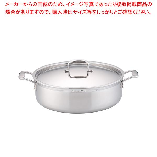 ステンレス ビタクラフト・プロ 外輪鍋 (蓋付)40cm No.0238 【メイチョー】