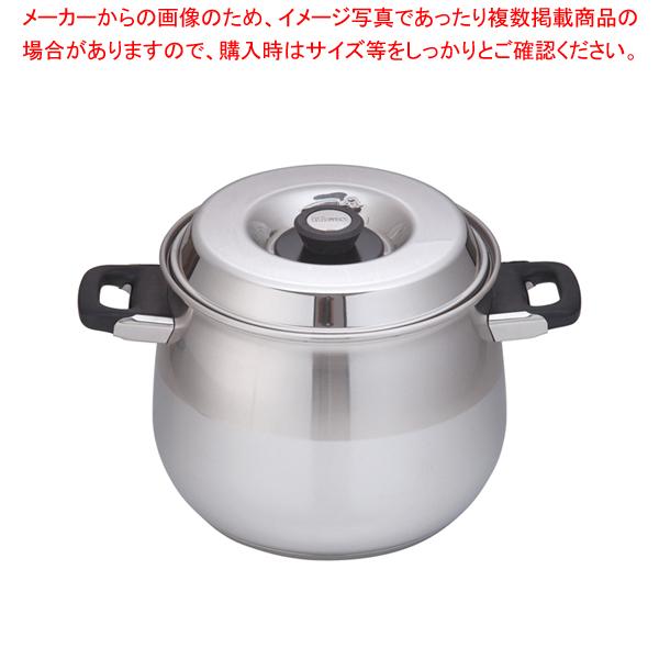 18-10 8080 ストックポット 8090/24 24cm 【メイチョー】
