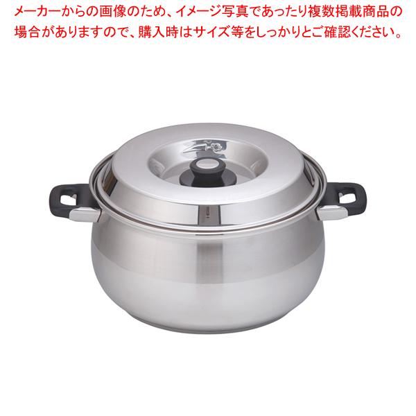 18-10 8080 キャセロール 8080/32 32cm 【メイチョー】