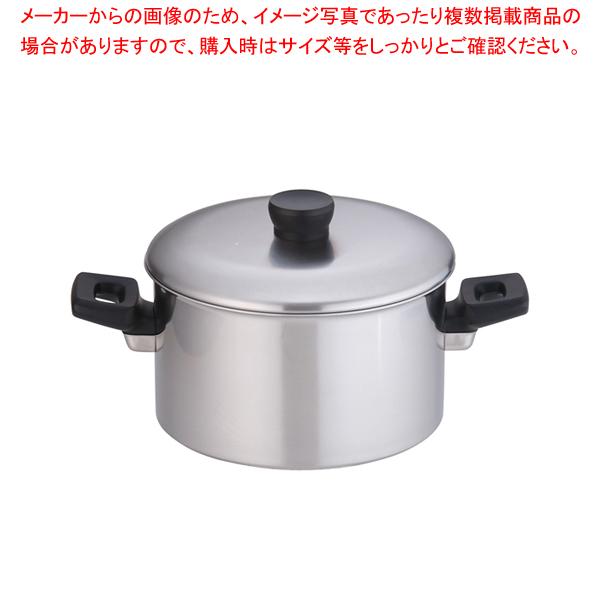 エルム IH 3層鋼 両手鍋 24cm【 両手鍋 IH IH対応 】 【メイチョー】