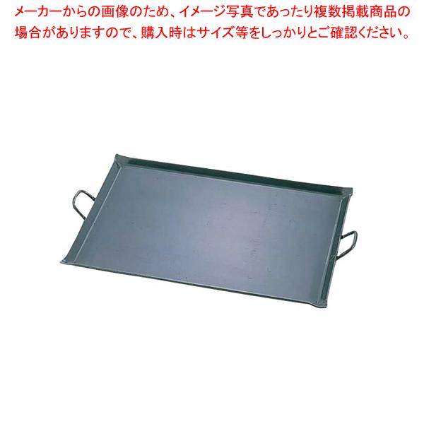 鉄 極厚プレス式 バーベキュー鉄板 中【 利便性抜群 】 【メイチョー】