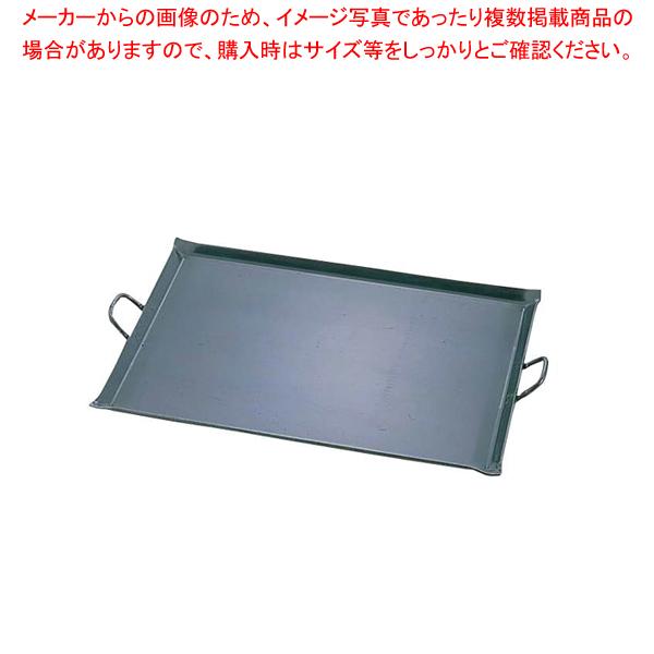 鉄 極厚プレス式 バーベキュー鉄板 小【 利便性抜群 】 【メイチョー】
