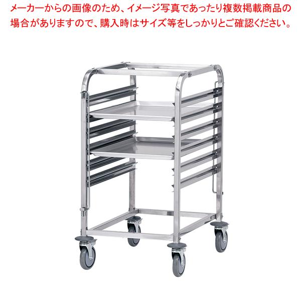 遠藤商事 / TKG ステン シートパントローリー N10511(6段)【 厨房用カート 】 【メイチョー】