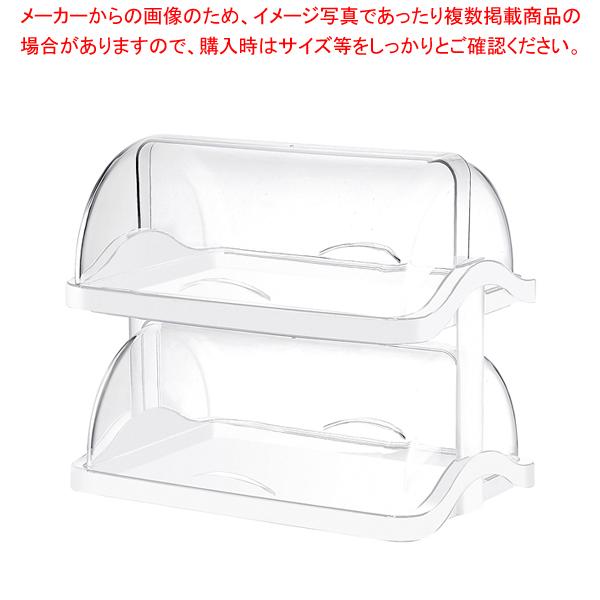グッチーニダブルオープンブレットケース 2段1881.0211ホワイト 【メイチョー】