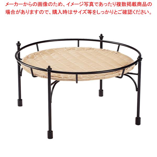 プリート 積み重ねスタンド丸 ナチュラル 高 DS514-25-NA 【メイチョー】