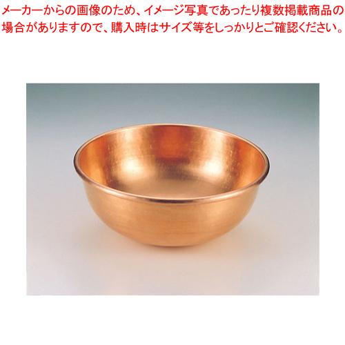 SA銅打出さわり鍋 手無・スズメッキなし 36cm 【メイチョー】