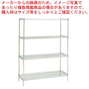 サイドアップエレクターシェルフ 棚 MU1220 【メイチョー】