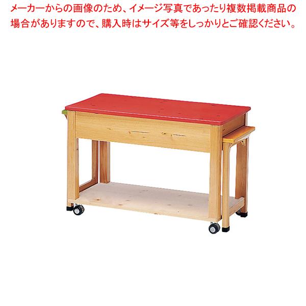 木製カラー配膳台ニュートリプル【 メーカー直送/後払い決済不可 】 【メイチョー】