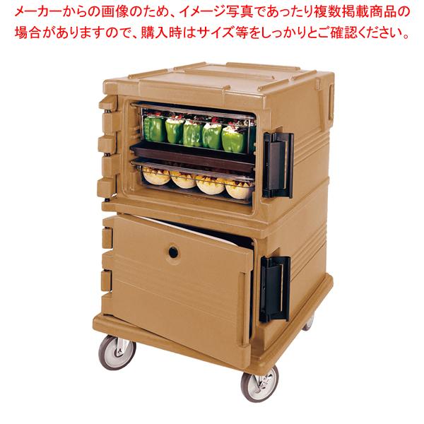 カムカート フードパン(フルサイズ)用 UPC1200コーヒーベージュ【 フードキャリア 台車 カート 】 【メイチョー】