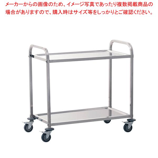 遠藤商事 / TKG サイレント キッチンワゴン 2段 L【メイチョー】