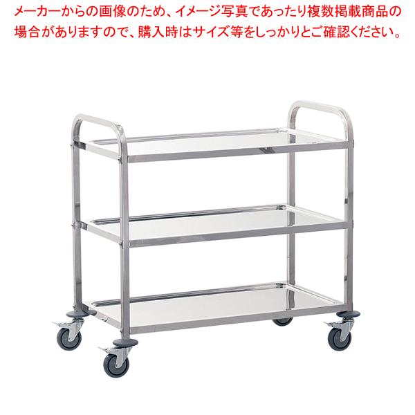 遠藤商事 / TKG サイレント キッチンワゴン 3段 L【メイチョー】