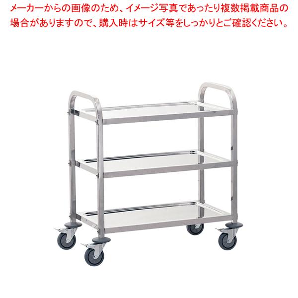 遠藤商事 / TKG サイレント キッチンワゴン 3段 S【メイチョー】