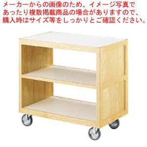 SAサイドテーブルワゴンクリヤーST-4【 サービスワゴン 食品運搬台車 】 【メイチョー】