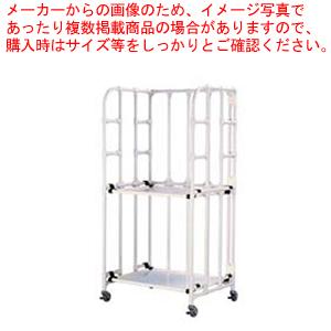 抗菌イレクター 包材運搬棚車 【メイチョー】【台車 イージーコンテナ 】