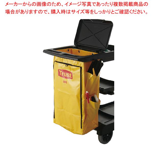 トラスト クリーニングカート用 ポリライナー6978 イエロー 【メイチョー】