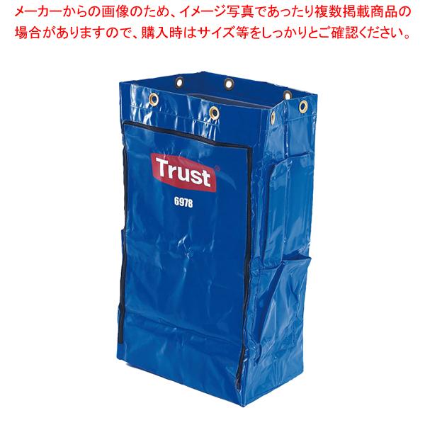 トラスト クリーニングカート用 ポリライナー6978 ブルー 【メイチョー】