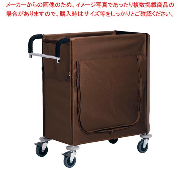 ハウスキーピングワゴンS ブラウン 【メイチョー】