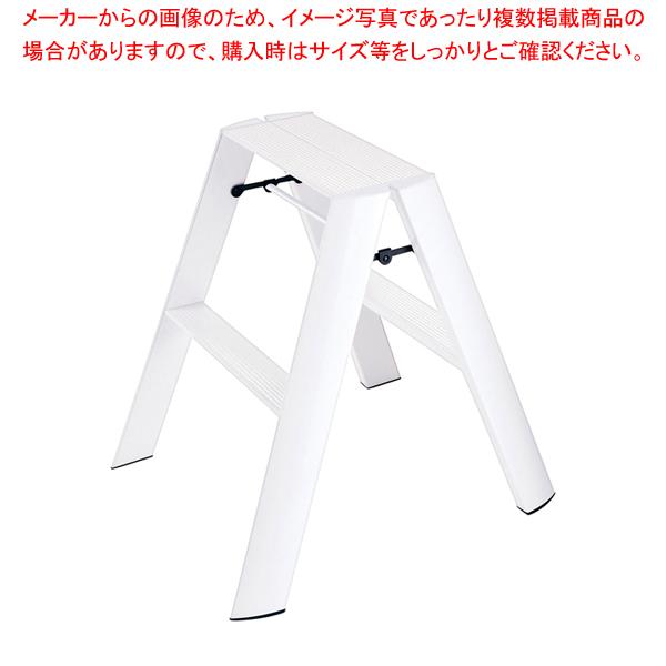 ルカーノ ステップスツール ML2.0-2 ホワイト 【メイチョー】