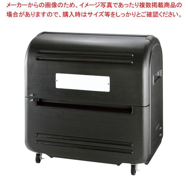 ワイドペール 500K (キャスター付き)【メイチョー】<br>【メーカー直送/代引不可】