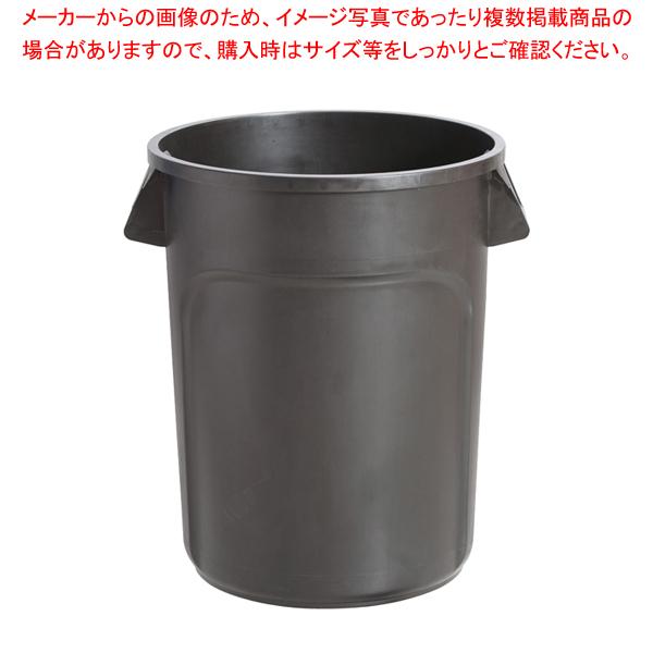 トラスト ラウンドコンテナ 1013 121L ブラック 【メイチョー】
