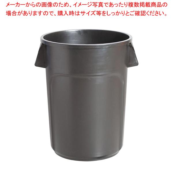 トラスト ラウンドコンテナ 1014 166L ブラック 【メイチョー】