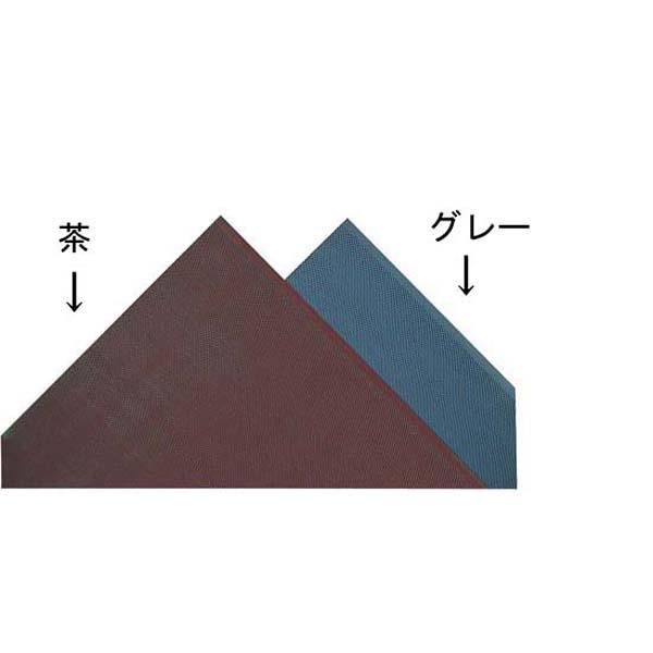 3M エントラップマット(裏地つき) 900×1500mm グレー【メイチョー】【玄関入口用マット 】