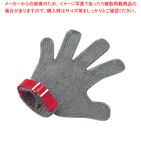 ニロフレックス メッシュ手袋5本指 S S5R-EF 右手用(白) 【メイチョー】