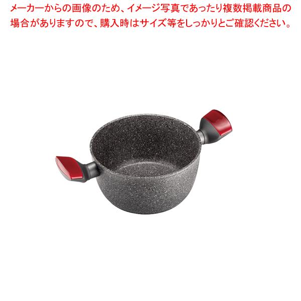 クッキングプロジェクト 両手深鍋 20cm2931.2065レッド 【メイチョー】
