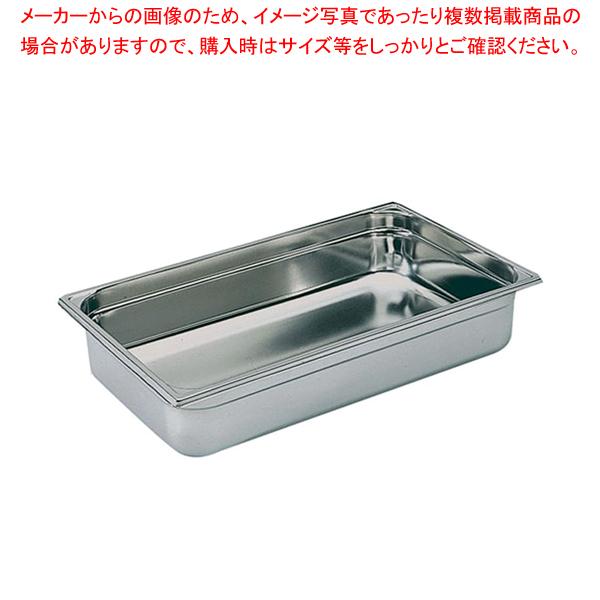ブウジャー ステンレス ホテルパン 7440.20 1/3×200mm 【メイチョー】