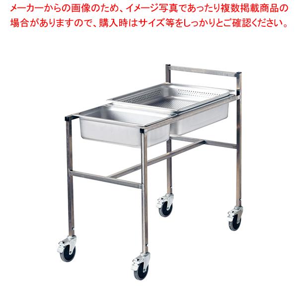 18-8 モバイルホテルパンカート 3連 【メイチョー】