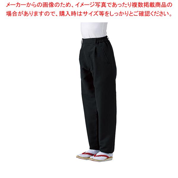 男女兼用和風パンツ SLB951-1 ブラック LL 【メイチョー】