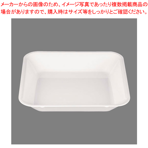 メラミン 角型フードパン 2/3 UL-2365W 【メイチョー】