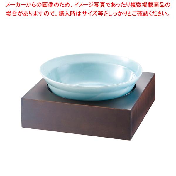 和鉢e-チェーフィング PS-15807 ブラウンスタンド+トルコ鉢 【メイチョー】