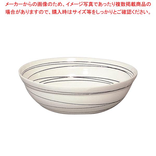 和鉢e-チェーフィング専用和鉢350 白渦 PS-15115 【メイチョー】