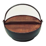 (S)電磁用 みやま鍋 27cm【 料理宴会用 田舎鍋 】 【メイチョー】