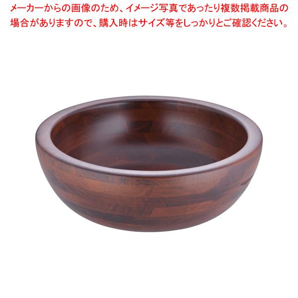 木製 惣菜くり鉢 深型 大 44282【メイチョー】【器具 道具 小物 作業 調理 料理 】