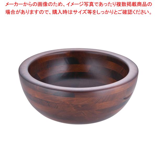 木製 惣菜くり鉢 深型 中 44283【メイチョー】【器具 道具 小物 作業 調理 料理 】