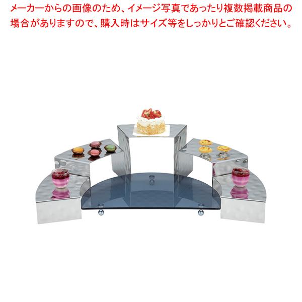 KINGO コンビネーションディスプレイ ガラスベース【メイチョー】<br>【メーカー直送/代引不可】