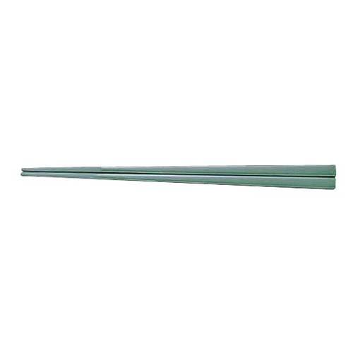 メラミンすべり止め付角箸(50膳入) 22.5cm 緑【メイチョー】【メラミン 給食用食器 箸 】