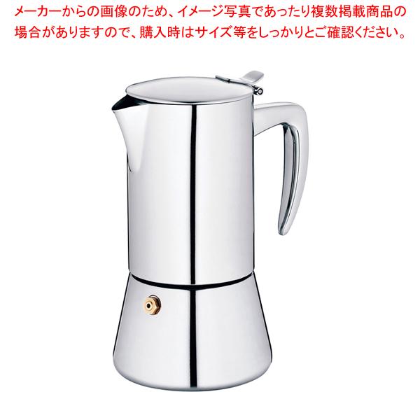エスプレッソコーヒーメーカー ラティーナ 4カップ 10835 【メイチョー】
