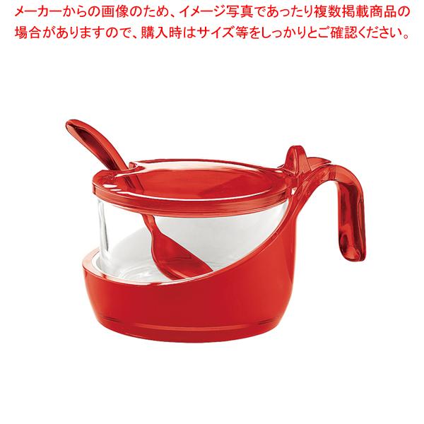 グッチーニ シュガー/チーズジャー 2489.0065 レッド 【メイチョー】