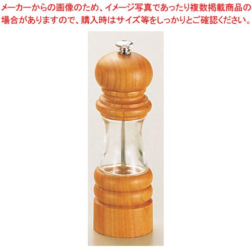 IKEDA 6715 ソルトミル クリスタルウッド【 キッチン小物 塩入れ 】 【メイチョー】