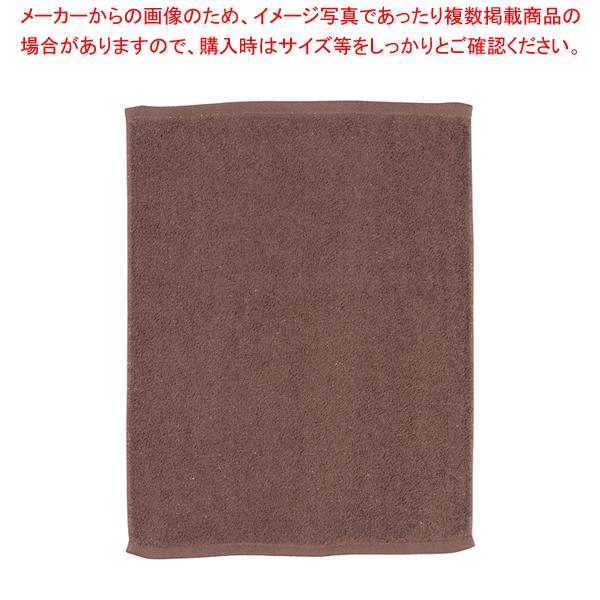 ミューファン 抗菌オシボリタオル (12枚入) 茶 【メイチョー】