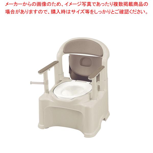 ポータブルトイレ きらく PS2型 【メイチョー】