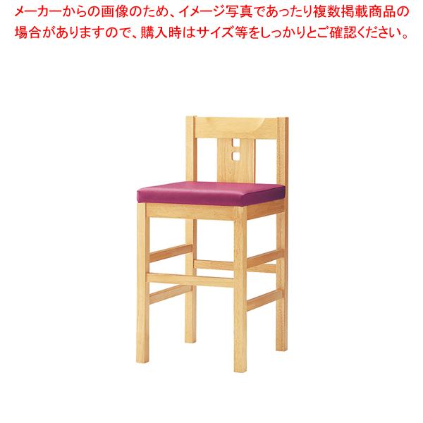和風カウンター椅子 TTKK-YZC-N 【メイチョー】