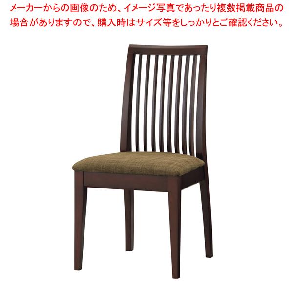和風椅子 SCW-3016・DB 【メイチョー】