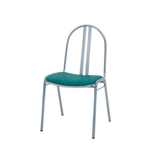 パイプチェアー SCS-2311 (AL-05M)【メイチョー】【家具 洋風椅子 レストランチェア 】