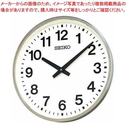 セイコー 屋外・JIS防雨型クロック 超大型 KH411S 【メイチョー】